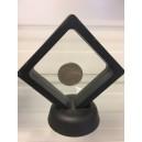 universali pakavimo dėžutė dovanai 3D 16x16 cm su permatomų tamprių langelių