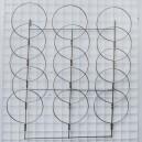 Kepurių panėlė 3x5-P